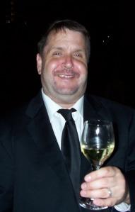 Dave Celebrating
